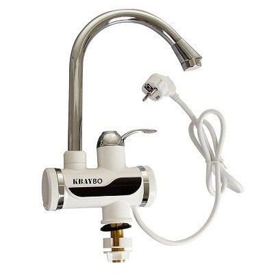 YELOWKIS Faucet Calentador De Agua Eléctrico De 3000W Grifo De Exhibición De La Temperatura De La