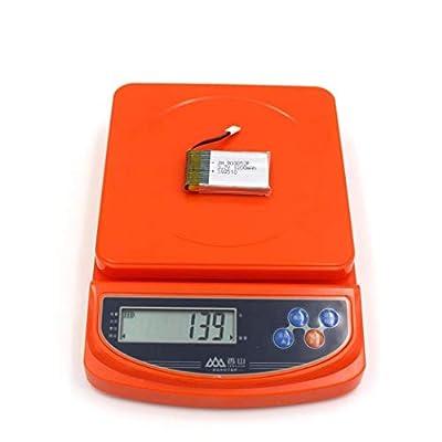 3.7V 1200mAh 25C Lipo Battery, Elevin(TM) Upgrade 3.7V 1200MAH Battery for Syma X5 X5C X5SC X5SW-1 X5SW
