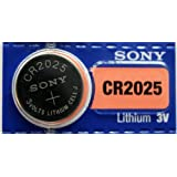 5pc SONY 2025 CR2025 3V Lithium Coin Battery (5 Batteries)