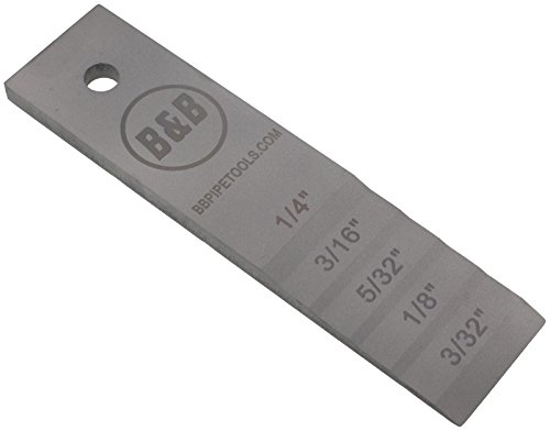 B&B Pipe 2131 Stepped Pipe Wedge (Medium) 1-1/2