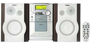 Philips MC-200/22 Micro-System - Microcadena estéreo, plateado