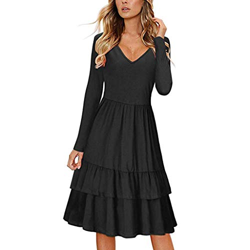 TRENDINAO Women Pencil Dress Summer Fashion Front Knot Short Sleeve Solid Slim Dresses for Special Occasions Black