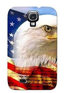 Nueva snap-on Freshmilk piel carcasa Compatible con Galaxy S4Native American Eagle
