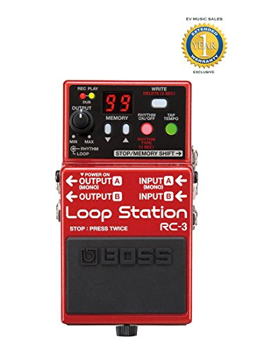 BOSS Audio RC-3 Loop Station Pedal Loop Pedal