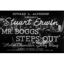 Mr. Boggs Steps Out DVD (1938) a Wonderful Example of Distractions During the Great Depression Starring Stuart Erwin, Helen Chandler, Toby Wing, Tully Marshall, and Spencer Charters.
