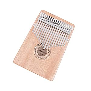 Kalimba 17 key Thumb Piano Finger Piano with Case Bag Tune Hammer