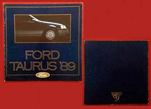 - 1989 FORD TAURUS 4 Puertas & WAGON PRESTIGE VINTAGE COLOR SALES BROCHURE - MEXICO - SPANISH - FABULOUS ORIGINAL !!