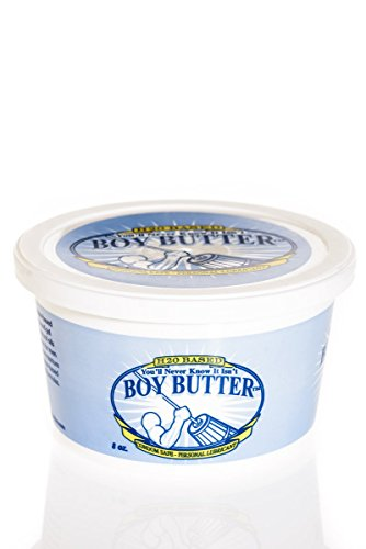 - Boy Butter Personal Lube, H2O Formula (8 Oz. Tub)