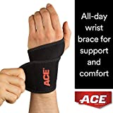 ACE Brand Wrist Support, America's Most Trusted Brand of Braces and Supports, Money Back Satisfaction Guarantee