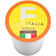 Fevo Italia Coffee Pods, Venezia, Compatible with 2.0 K-Cup Brewers, 40 Count