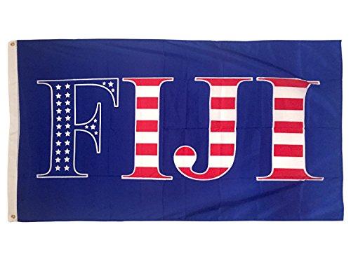 Phi Gamma Delta Fiji USA Pattern Letter Fraternity Flag Banner Sign Decor FIJI