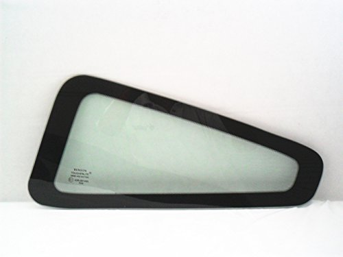 Coupe Quarter Glass - TYG Fits 2005-2009 Ford Mustang 2 Door Coupe Driver Side Left Rear Quarter Glass