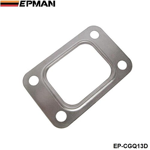 Silver, Pack of 10 EPMAN Universal T3 T34 T35 T38 GT35 GT35R Turbo Manifold Outlet Exhaust Gasket