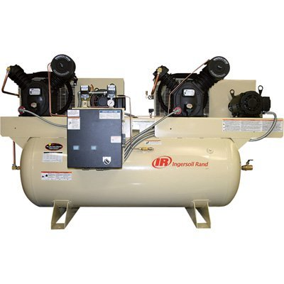 Amazon.com: - Ingersoll Rand Air Compressor - Duplex, 10 HP, 230 Volt 3 Phase, Model# 2445E10-V: Home Improvement