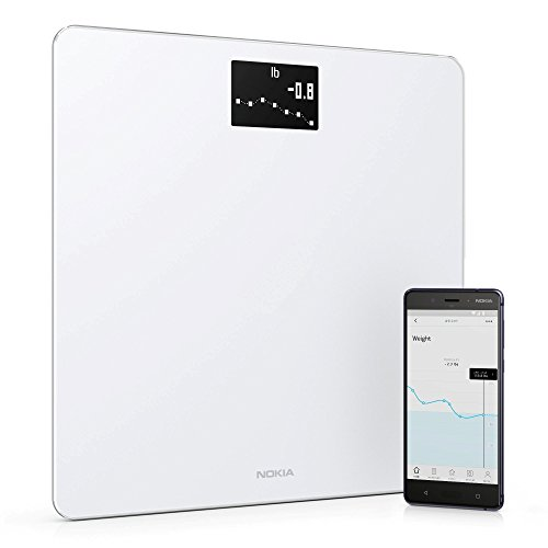 Withings / Nokia | Body - Smart Weight & BMI Wi-Fi Digital Scale with smartphone app, White