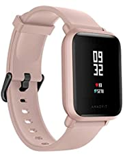 Relogio Xiaomi Amazfit Bip Lite rosa Smartwatch, Android iOS