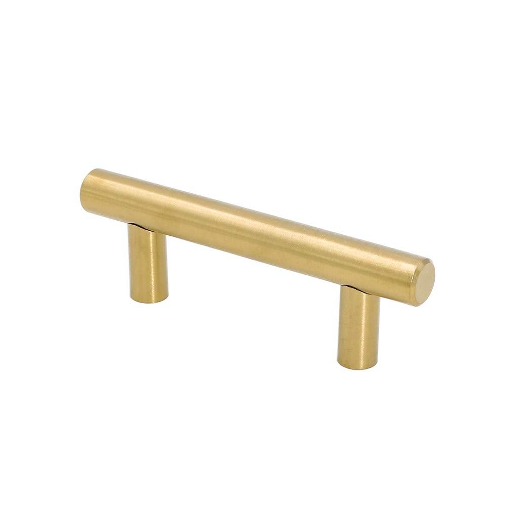 Tiradores Para Puertas De Cocina | Goldenwarm 5pcs Oro Tirador Para Puerta De Armario De Cocina Cajo N