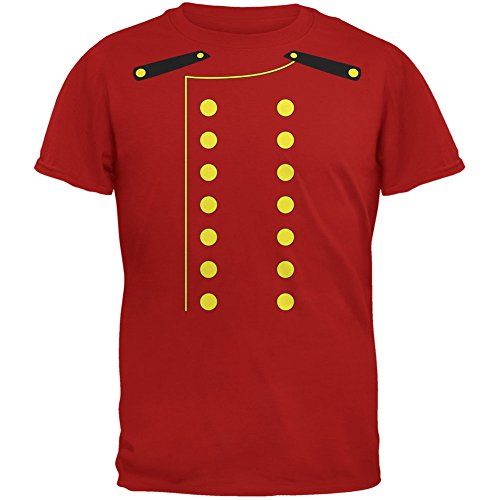 (Old Glory Halloween Hotel Bellhop Costume Red Youth T-Shirt - Youth)