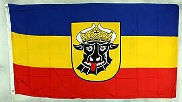 Brandenburg Flagge 150 x 90 cm wetterfest Fahne Ösen Außen Hissflagge Neu Flag