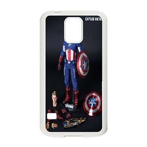 Custom Case Captain America for Samsung Galaxy S5 Y4U5238267