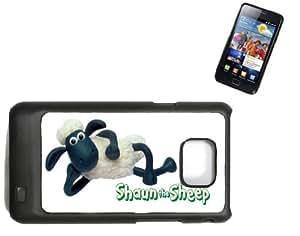 Samsung Galaxy S2 i9100 Hard Case with Printed Design Shaun The Sheep