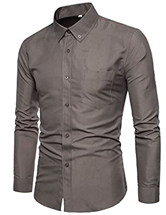 f43c147a Men Shirt Camouflage Dress Shirt 48 Long Sleeve Slim Fit Camisa Masculina  Casual Male Camisa Men