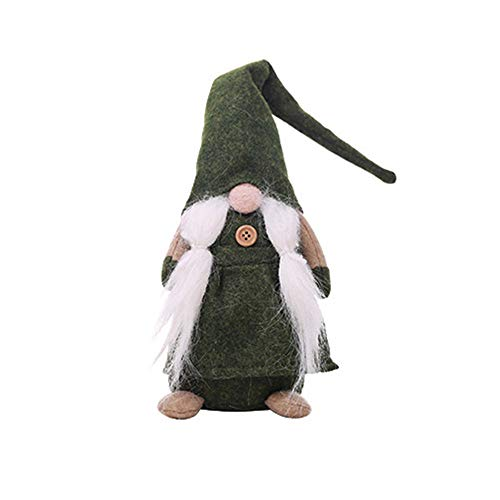 NNCTA 17 Inches Handmade Christmas Gnome Swedish Figurines Holiday Decoration Gifts (Near Sculptures Me Art)