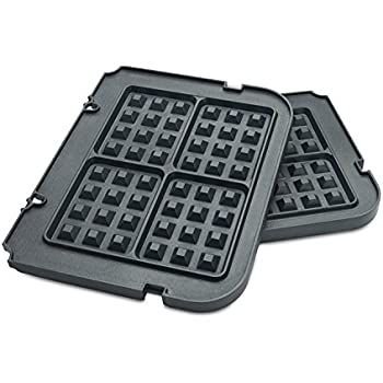 Gvode Waffle Plates for Cuisinart Griddler GR-4N /GRID-8N /GR-5B Series (Not for Model GR-4/GRID-8)
