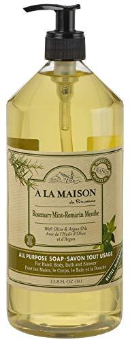 A La Maison Liquid soap - Rosemary Mint -1L - Liquid Soap Rosemary Mint