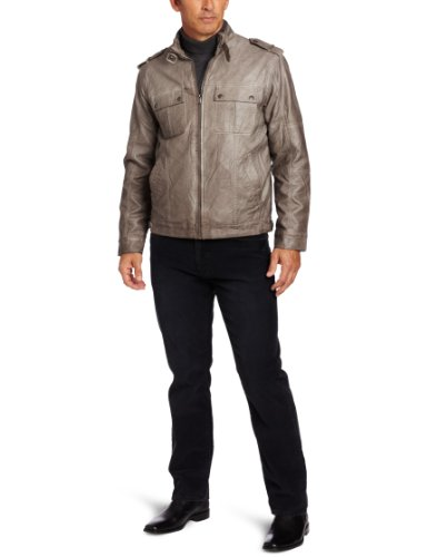 Perry Ellis Mens Bomber Jacket