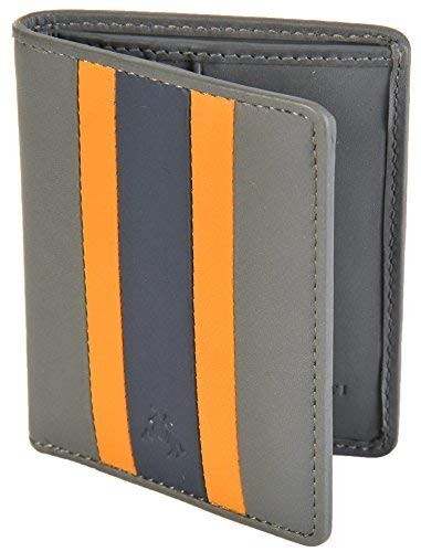 Multi Visconti RFID Grey Bifold Multi Wallet RAC16 Black Le Blocking Slim Mans PrH6qPx