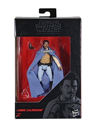 Star Wars, 2016 The Black Series, Lando Calrissian Exclusive Action Figure, 3.75 Inches (Star Wars Black Series 6 Inch 2016)