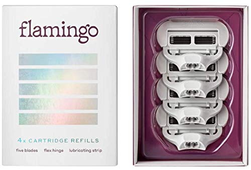 Flamingo Women's Razor Blade Refill - 4 Pack