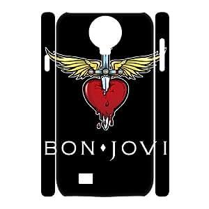 JJZU(R) Design New Fashion 3D Cover Case with Bon Jovi for SamSung Galaxy S4 I9500 - JJZU937594