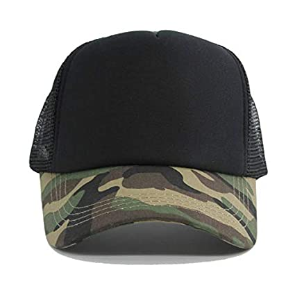 ZSOLOZ Baseball Caps Camouflage Mesh Baseball Caps For Men Snapback Sun Hat 5 Panels Women Casquette Bone Gorras Male Hip-Hop Baseball Hats
