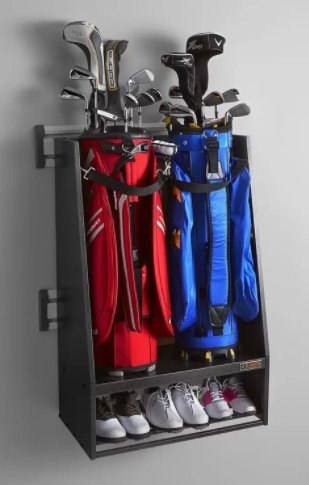 Premier Series Sports Golf GearTrack Storage Wall