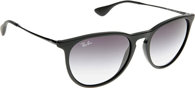 Ray-Ban Gafas De Sol Polarizadas Para Mujer Erika - 54Mm Rubber Negro-Light