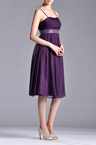 Chiffon Dresses Tea a Women's Line Adorona Cocoa Length Of5Ygwfq