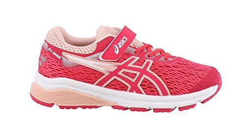 ASICS Kids Baby Girl's GT-1000 7 (Toddler/Little Kid) Pixel Pink/Frosted Rose 10 M US Toddler M ()