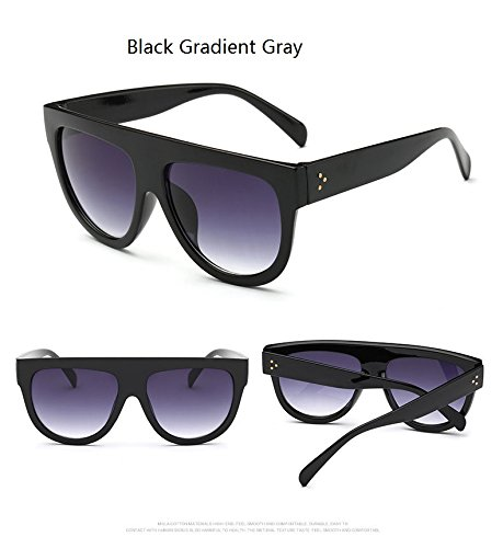 Amazon.com: Buildent Woman oculos Flat Top Big Oversized ...