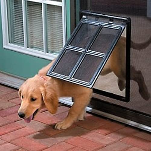 Pet Door From Top Pet Choice Ideal For Doors, Sliding Doors And Even Windows  That Have A Screen. Your Dog Or Cat Will Love The Easy Access To Go Outside  And ...