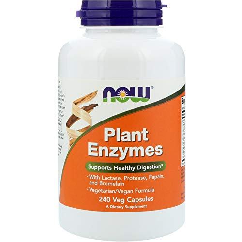 NOW Foods Plant Enzymes, 240 Vcaps Review
