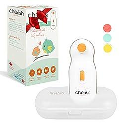 Elektrische Baby Nagelfeile, Sicherer Baby-Nagelschneider, Maniküre Set, Pediküreset Elektrisch für Säuglinge und…