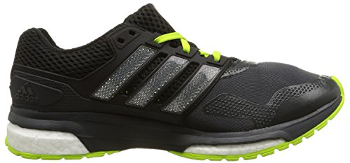 Adidas Response Boost 2 Techfit Mens Running Sneakers / Shoes Grey
