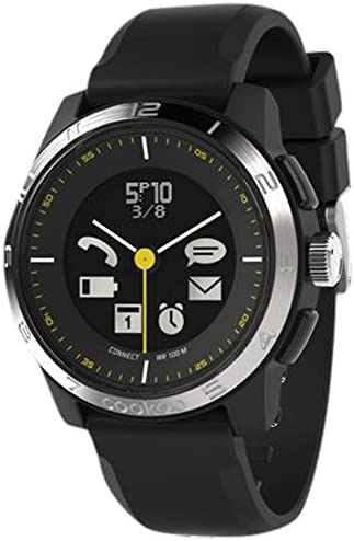 COOKOO Smart Bluetooth Connected Watch - Silver