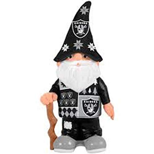 Oakland Raiders Real Ugly Sweater Gnome - Busy -