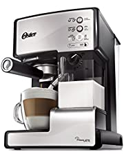 Oster BVSTEM6601S-033 Prima Latte 15-Bar Pump Espresso, Cappuccino and Latte Machine, Stainless Steel