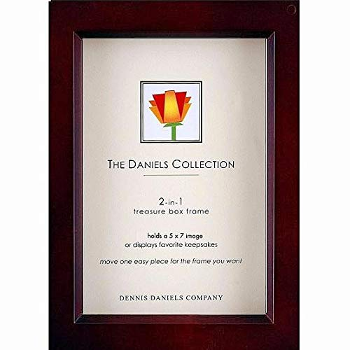 Dennis Daniels Treasure Box Picture Frame, 5 by 7