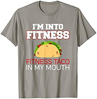 Cool Gift I'm Into Fitness, Fitness Taco In My Mouth  Women Long Sleeve Funny Shirt