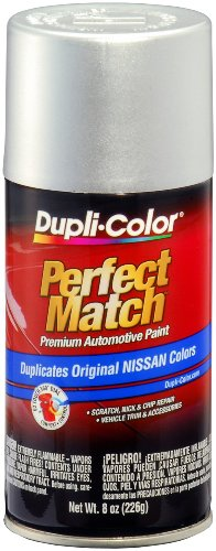 Dupli-Color EBNS06017 Silver Metallic Nissan Perfect Match Automotive Paint - 8 oz. Aerosol